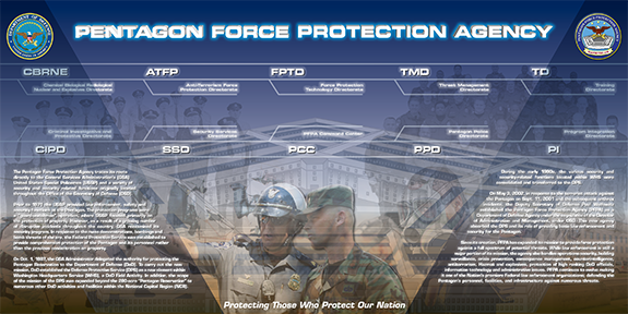 Pentagon Force Protection Agency Display