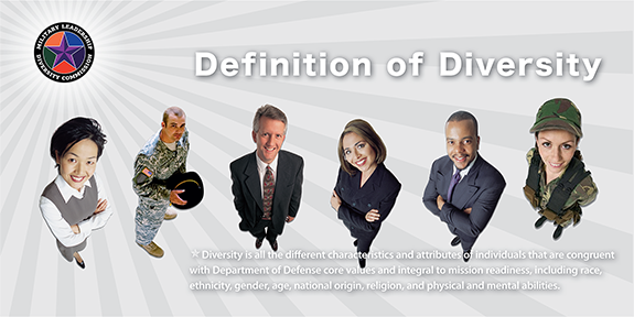 Military Leadership Diversity Commission Poster