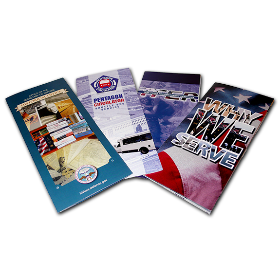 DoD Promotional Brochures